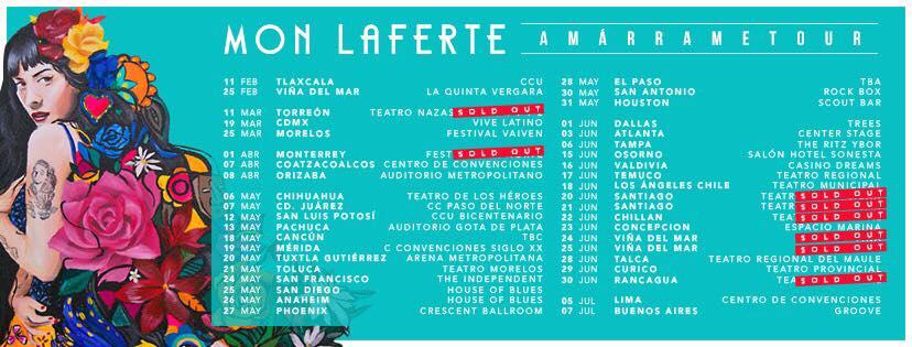 Mon Laferte en Cancún
