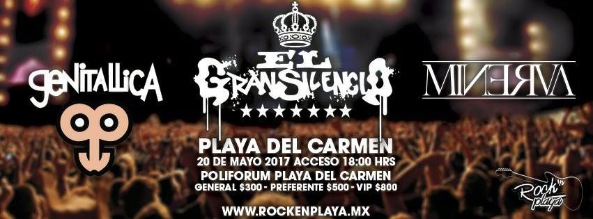 Genitallica en Playa del Carmen