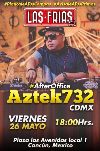 Aztek 732 en Cancún