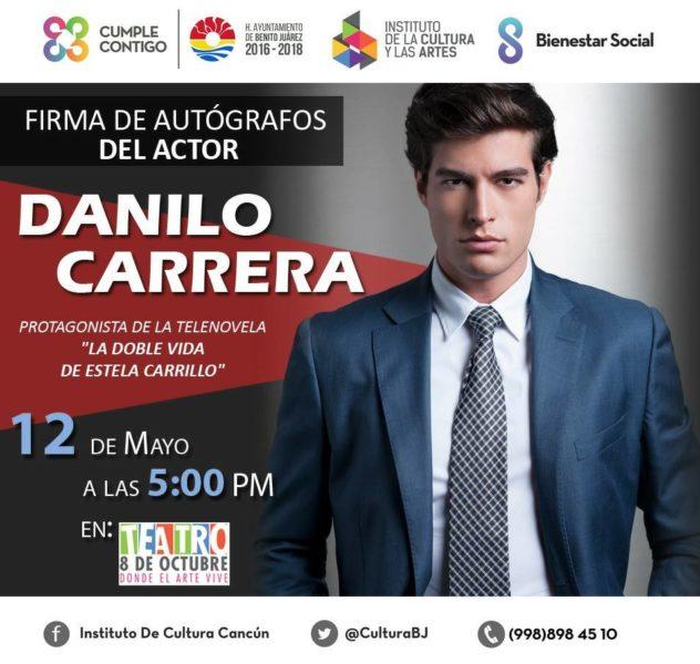 Danilo Carrera en Cancún