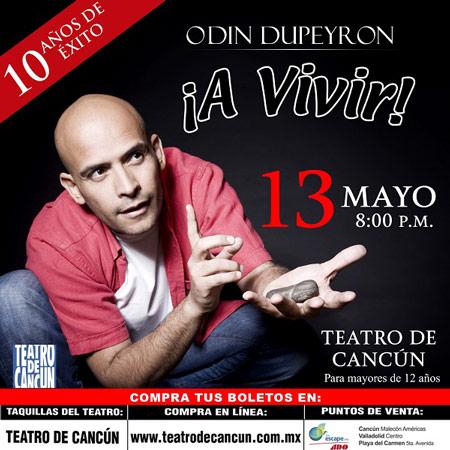 Odín Dupeyron en Cancún