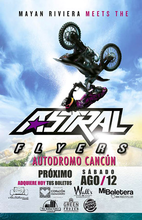Astral Flyers en Cancún
