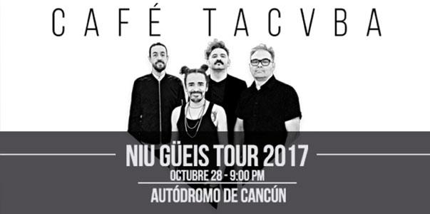 Café Tacvba en Cancún