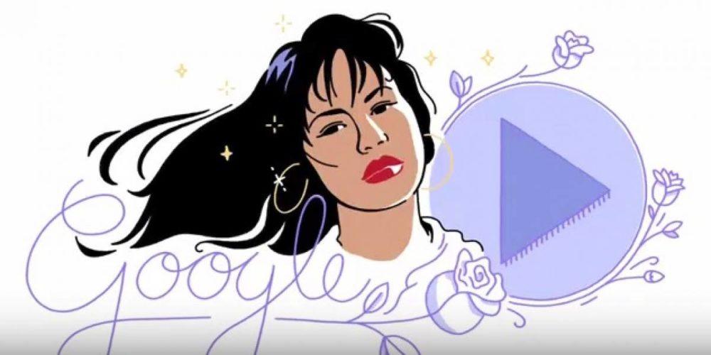 Doodle Selena Quintanilla