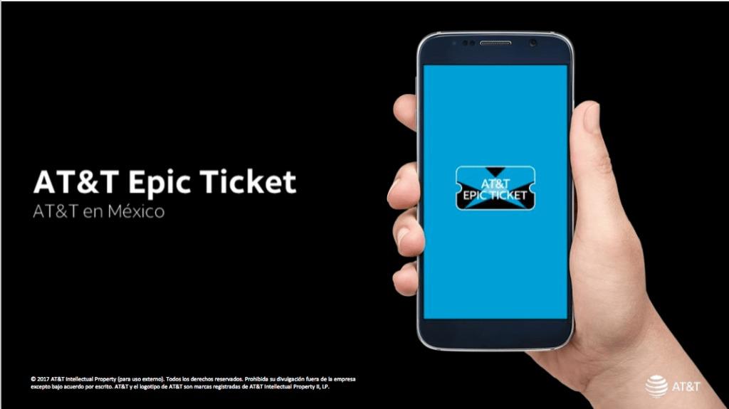 Aplicación Epic Ticket