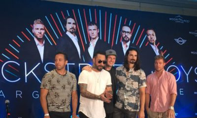 Video Backstreet Boys en Cancun