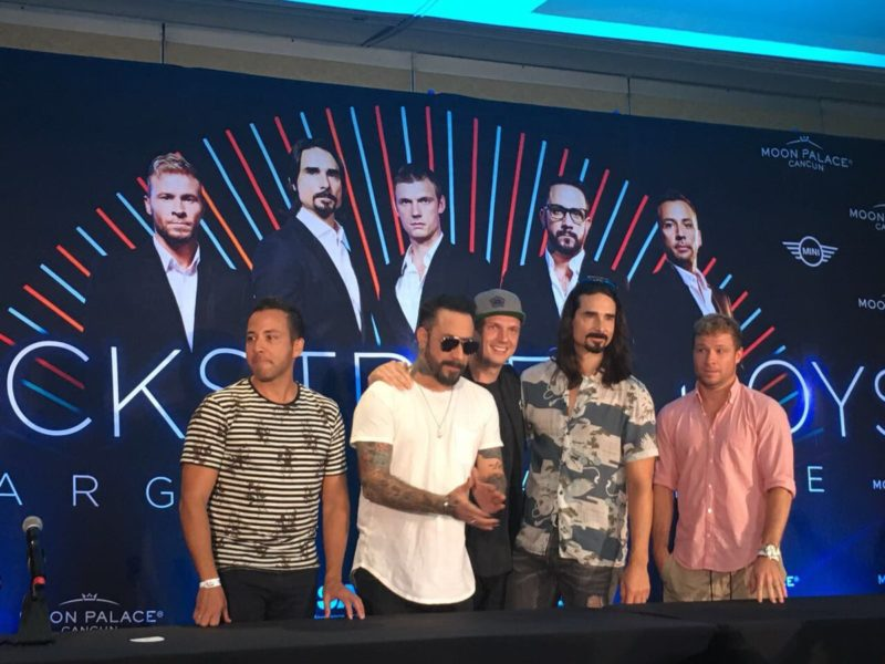 Video Backstreet Boys en Cancun