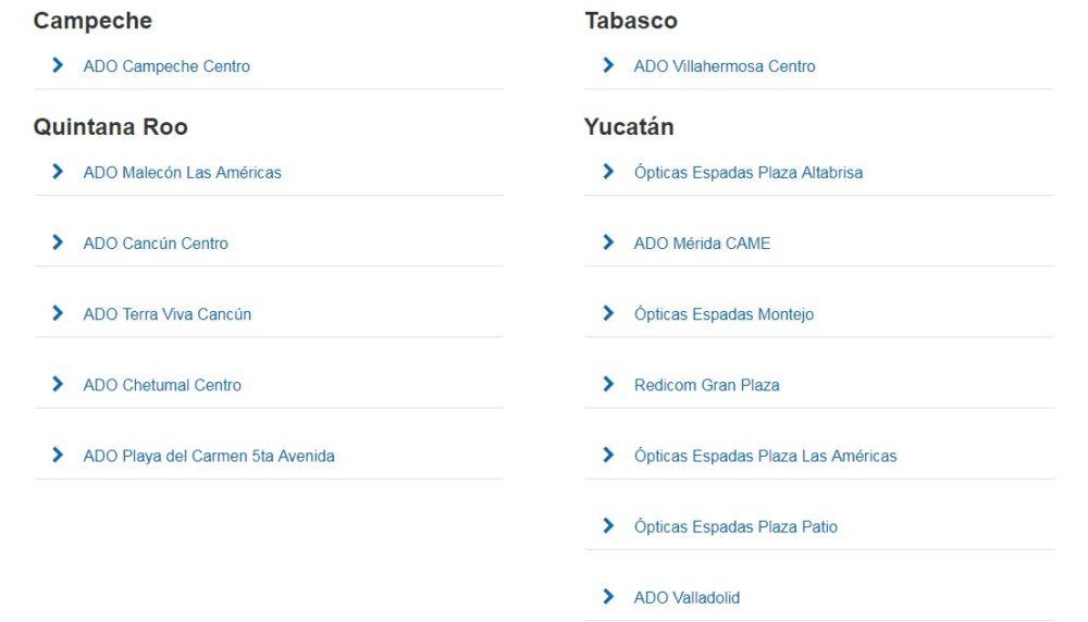 puntos de venta tusboletos.mx