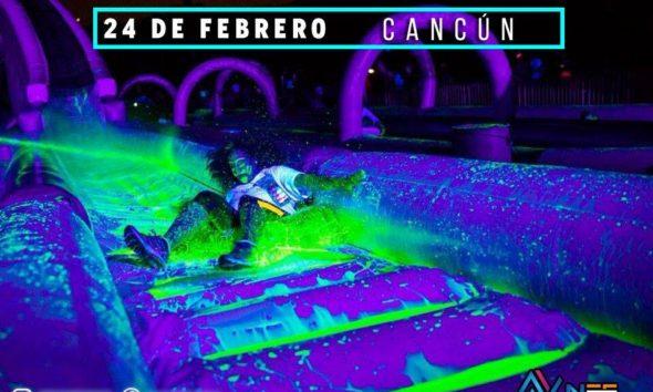 Toboganes Pintura neón Cancún