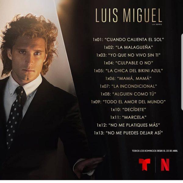 Capítulos Luis Miguel La Serie