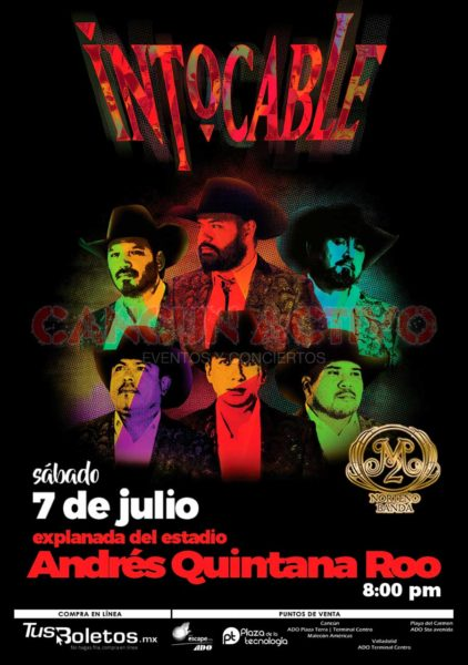 Intocable en Cancun