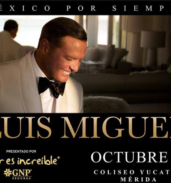 Luis Miguel en Mérida boletos