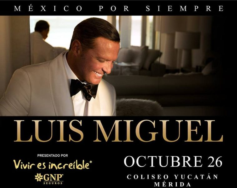 Luis Miguel en Mérida boletos