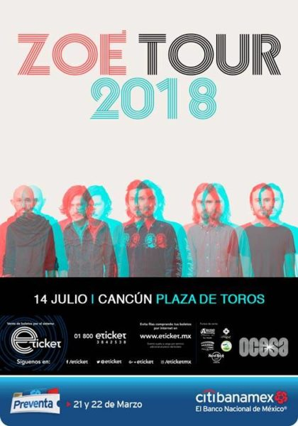 zoe en cancun 2018