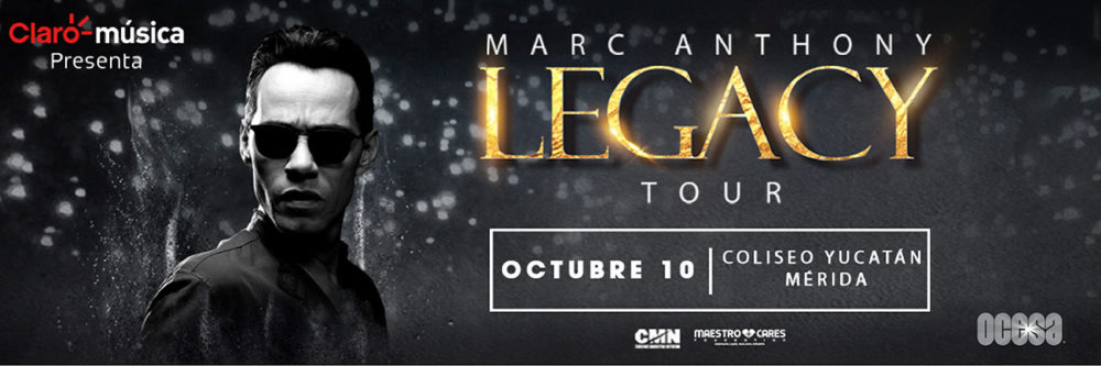 Marc Anthony en Mérida