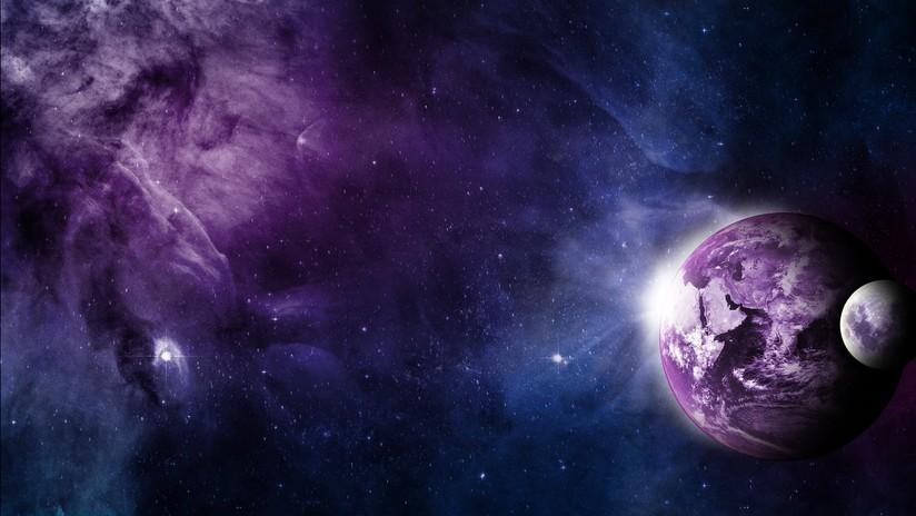 planeta morado tierra