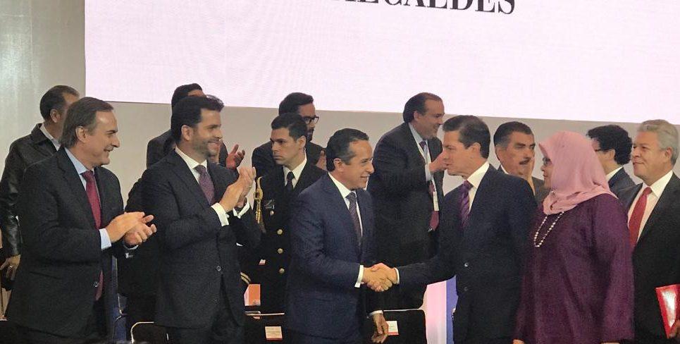 Carlos Joaquín asiste al Foro de Alcaldes, ONU-HABITAT- INFONAVIT