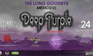 Deep Purple en Cancún