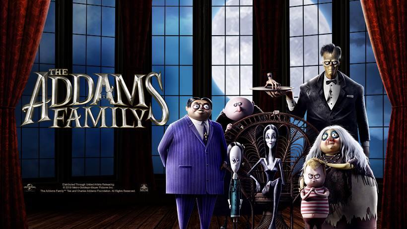 familia adams pelicula 2019