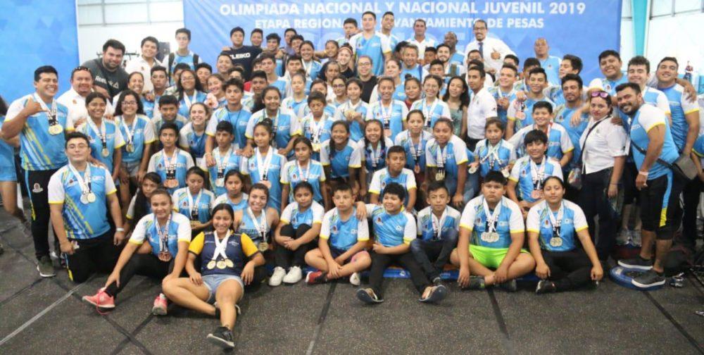 delegacion olimpiada nacional
