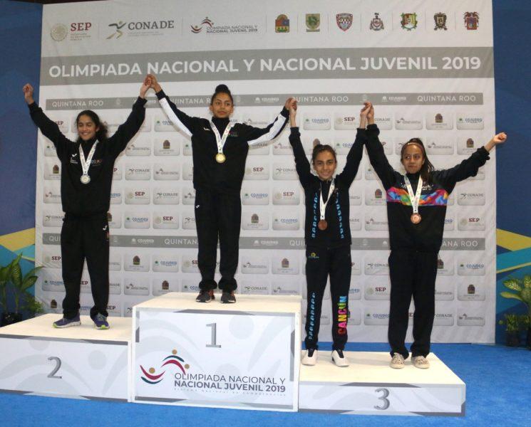 triunfo olimpiada nacional