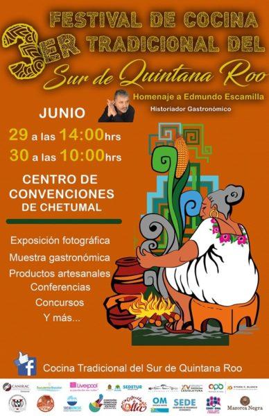 festival de cocina tradicional en Chetumal
