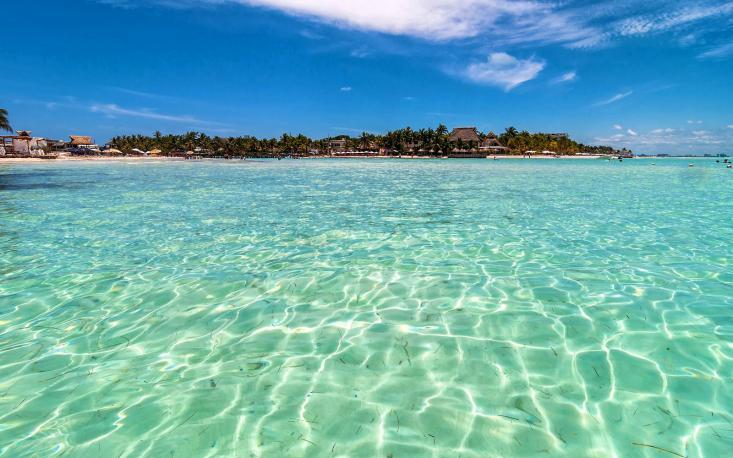 Playa Norte en Isla Mujeres