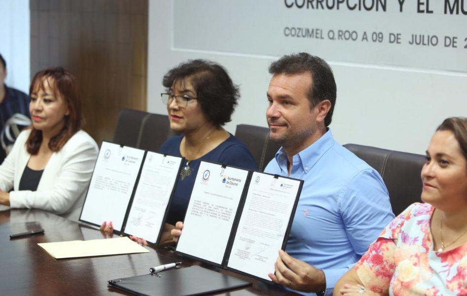 Combate a la corrupción en Cozumel