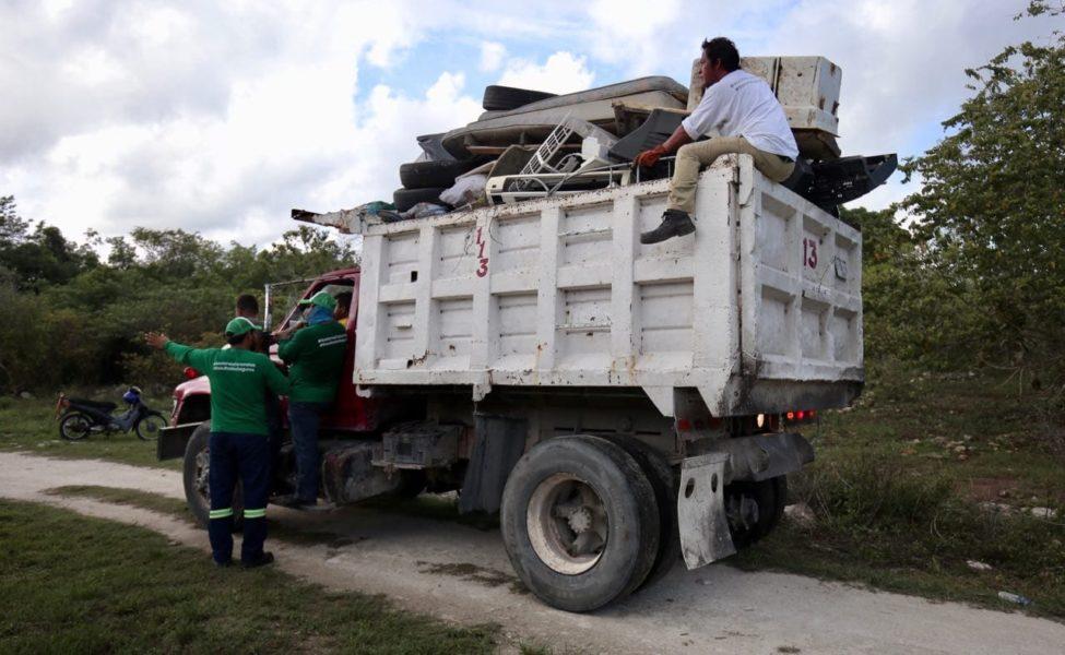 descacharrización en Cozumel