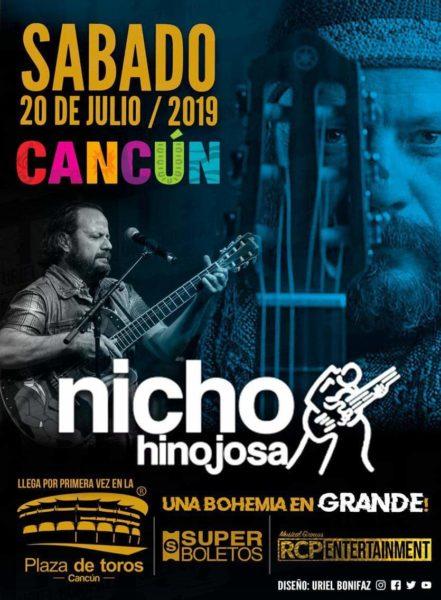 Nicho Hinojosa en Cancún