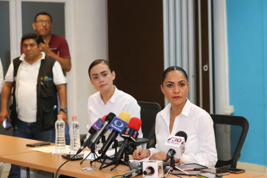 Secretaria de Salud Alejandra Aguirre Crespo