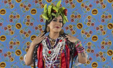 Lila Downs en Playa del Carmen