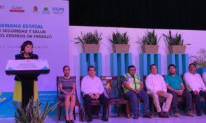 Semana Estatal de Seguridad y Salud en los Centros de Trabajo en Chetumal
