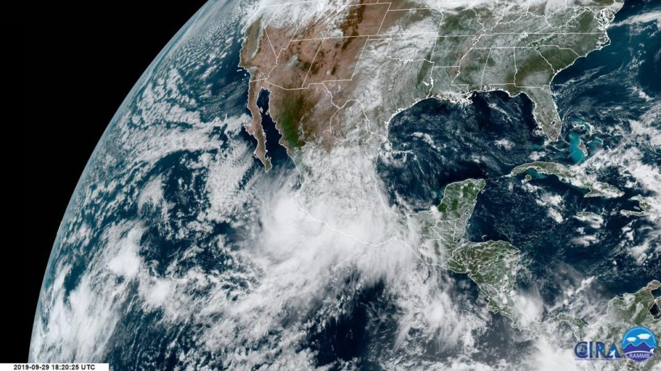 Depresión tropical Narda