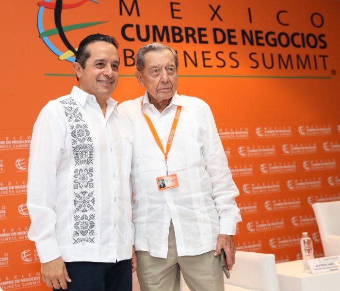 Carlos Joaquín González y Miguel Alemán Velasco