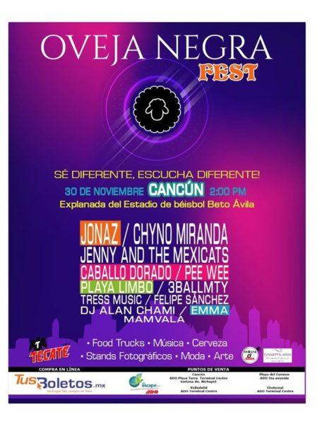 Oveja Negra Fest en Cancún
