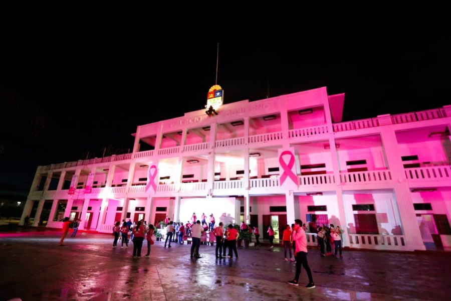 Palacio de gobierno en Chetumal