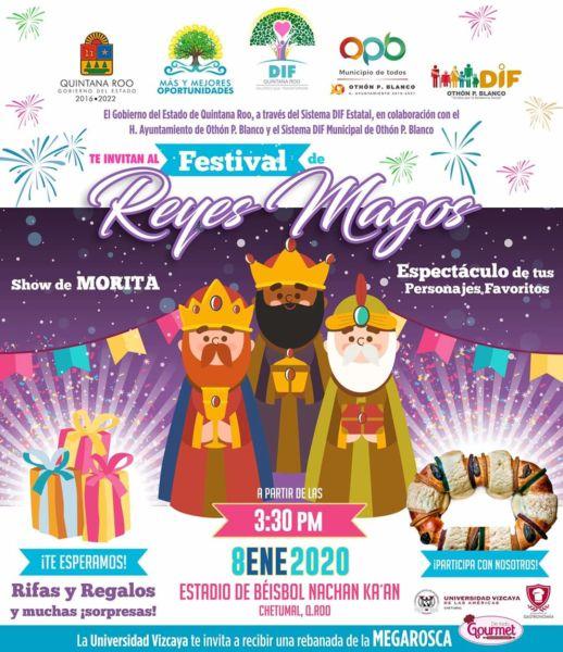 Festival de Reyes en Chetumal
