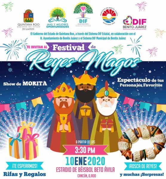 Festival de Reyes en Cancún