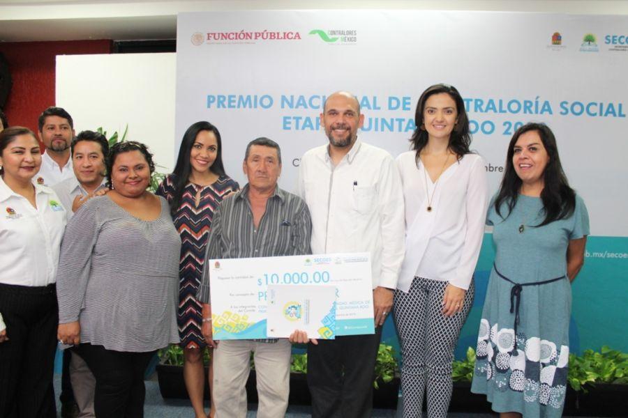 En Quintana Roo crece y se fortalece la participación ciudadana a través de la Contraloría Social.