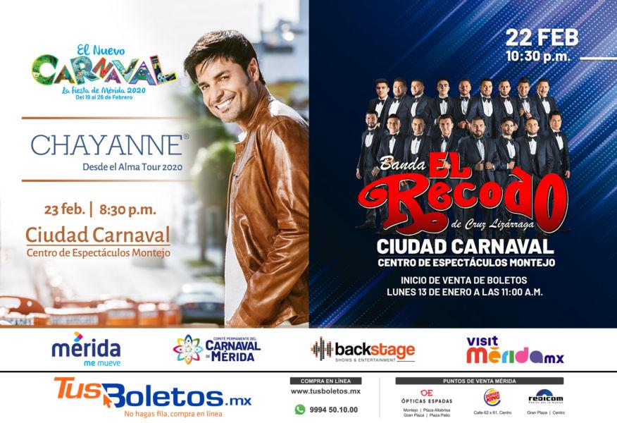 Artistas del Carnaval de Mérida 2020