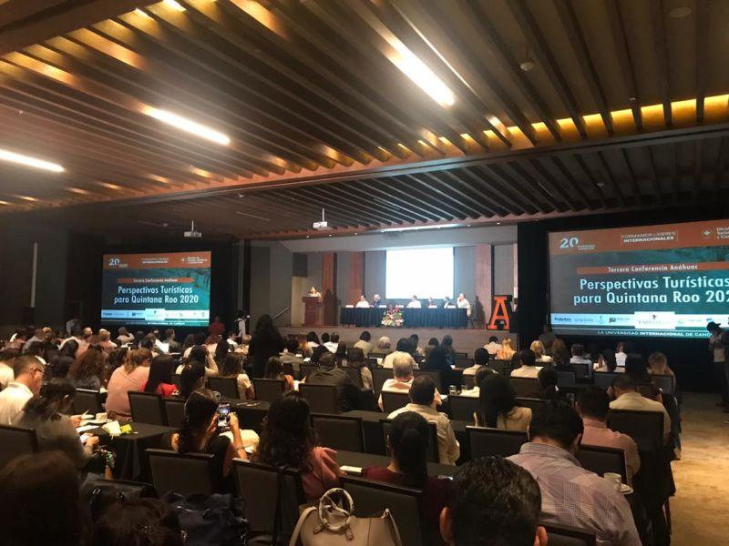 Presentan Conferencia Perspectivas Turísticas para Quintana Roo 2020