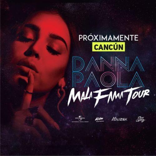 Presentaría Danna Paola en Cancún su Mala Fama Tour