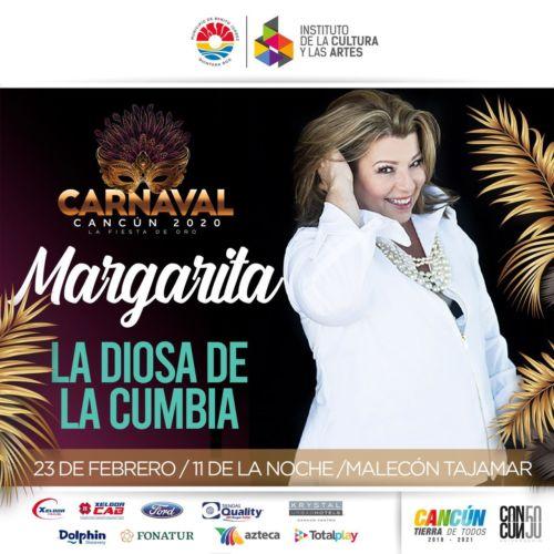 Concierto de Margarita en Carnaval de Cancún