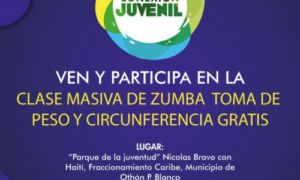 Realizan clase masiva de Zumba en Chetumal