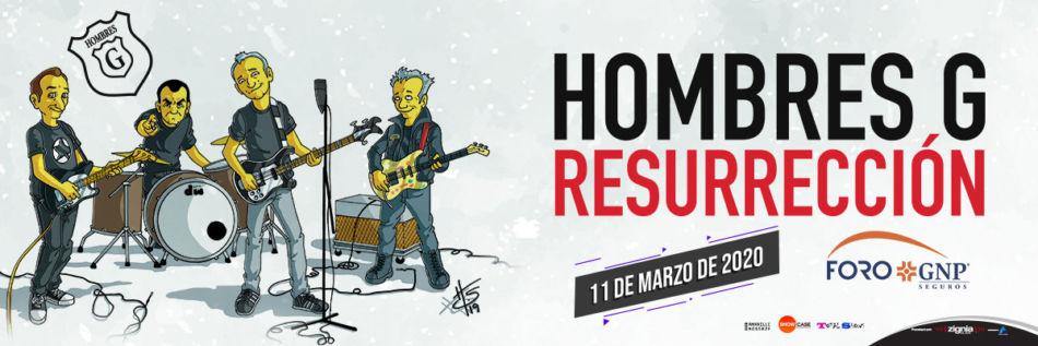Hombres G en Mérida con su tour Resurrección