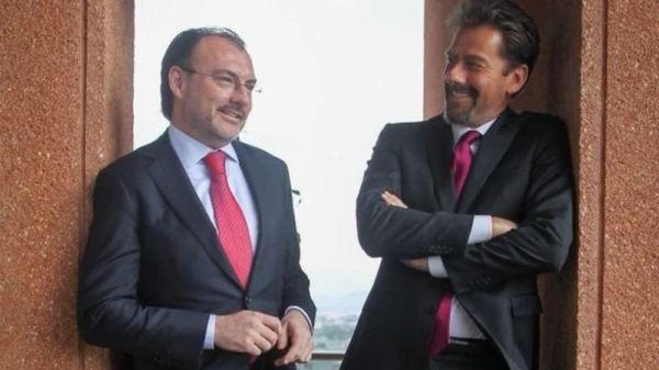 Eduardo Videgaray defiende a su hermano tras acusaciones de Emilio Lozoya