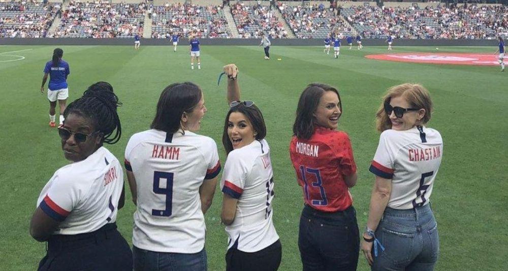 Eva Longoria y Natalie Portman tendrán un equipo de futbol profesional