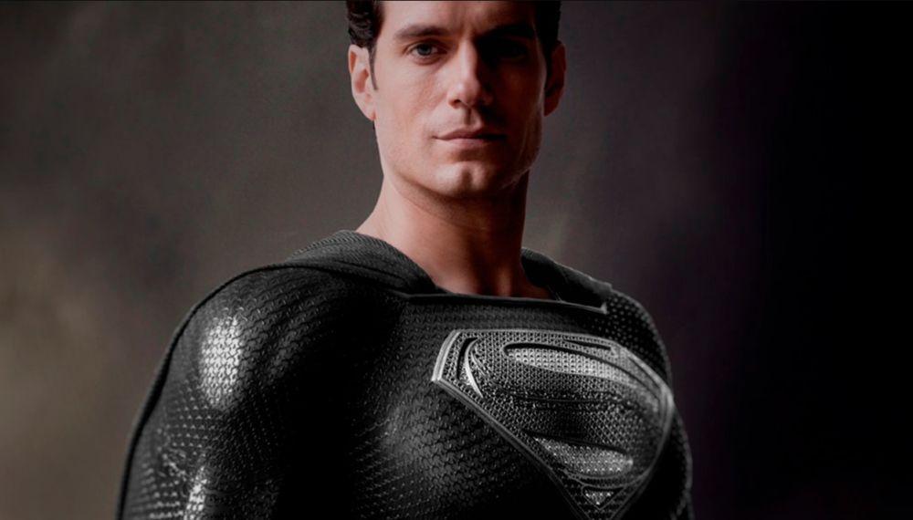 Presentan el traje negro de Superman que lucirá en Liga de la Justicia Snyder Cut