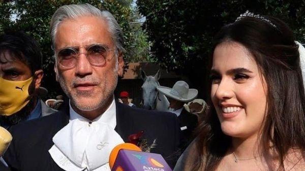 Se casa por la iglesia, Camila, la hija de Alejandro Fernández